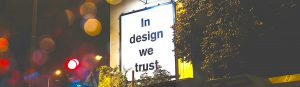 Nu is iedereen een designer.