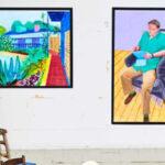 Op de overzichtstentoonstelling van David Hockney