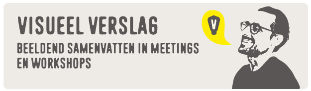 visueel verslag bij meetings en workshops