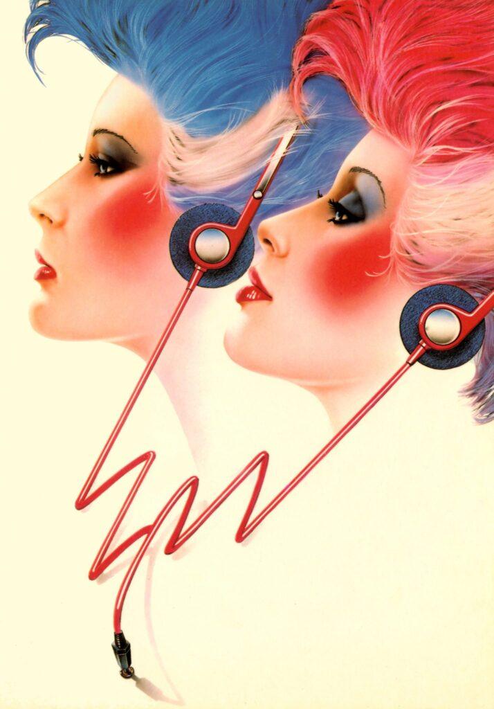 80's design revivall: van airbrush tot neon