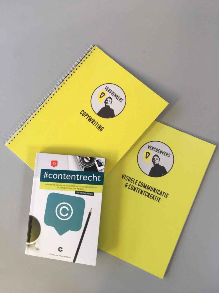 Het boek #Contentrecht, ook bij Verdenkers in de kast.