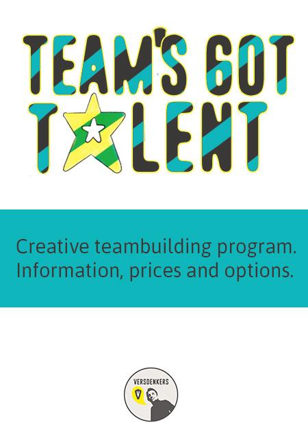 Teams got talent-teambuilding